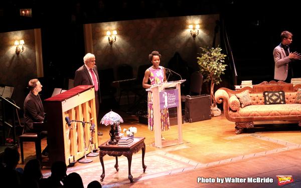 Peter Filichia and Lupita Nyong'o  Photo