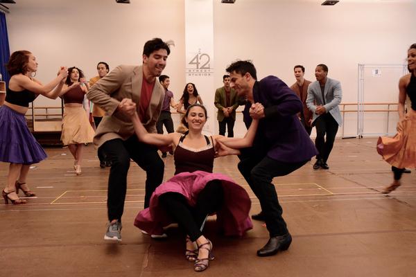Natalie Cortez, German Alexander and the cast