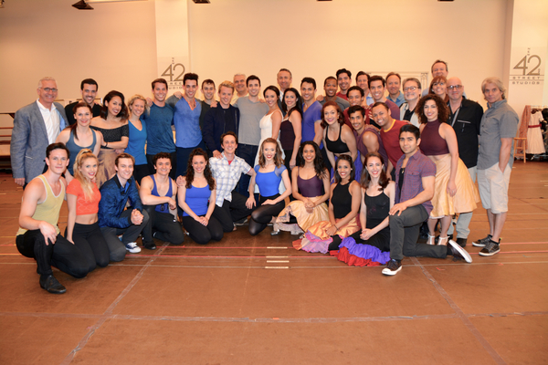 The Cast and Creative Team of Paper Mill Playhouse's West Side Story