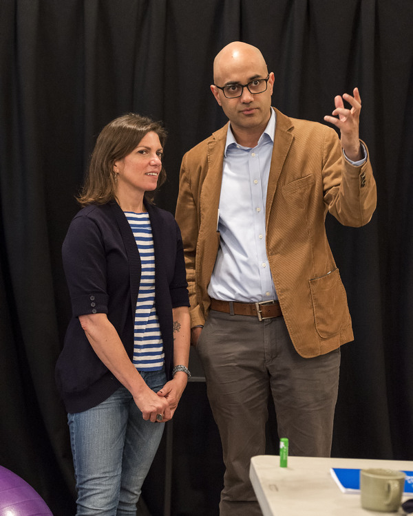 Photo Flash: In Rehearsal for Ayad Akhtar's DISGRACED at CTG/Mark Taper Form