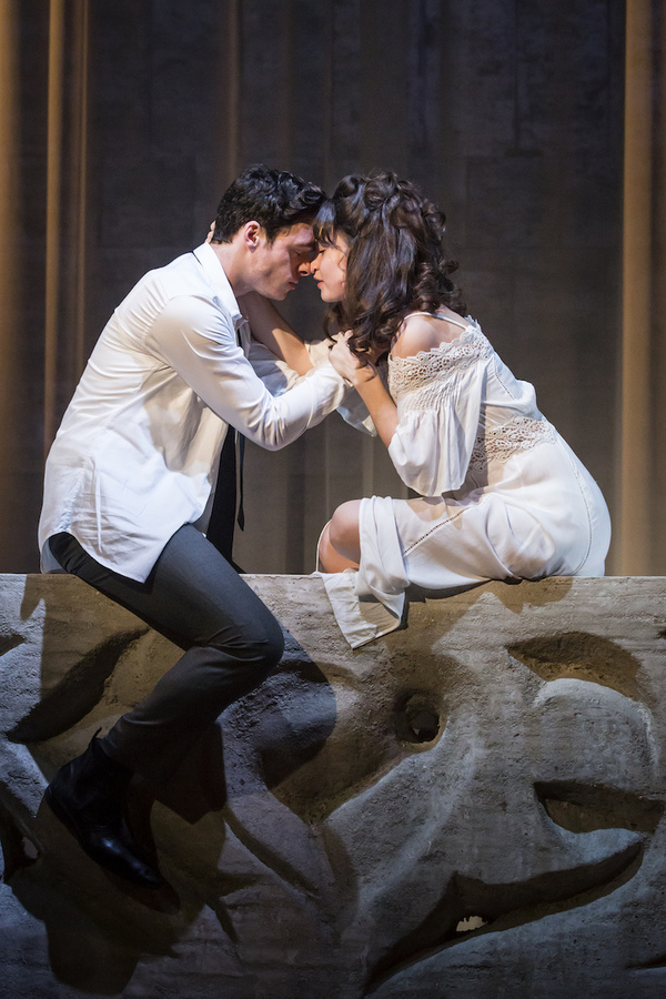 Photo Flash: Lily James and Richard Madden Open in Kenneth Branagh's ROMEO AND JULIET