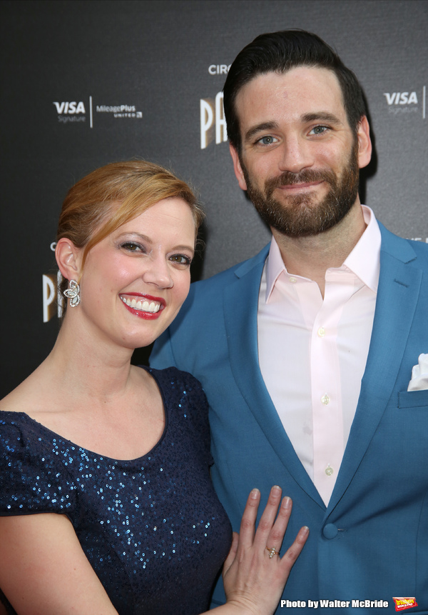 Patti Murin ands Colin Donnell