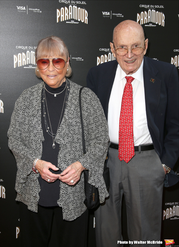 Tina Brown and William F. Brown