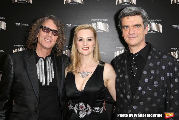 Jean-Francois Bouchard, Shana Carroll and Philippe Decoufle  Photo
