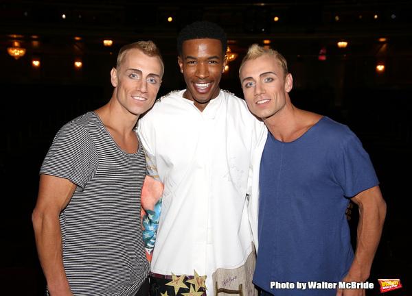 Kevin Atherton, Justin Prescott and Andrew Atherton  Photo
