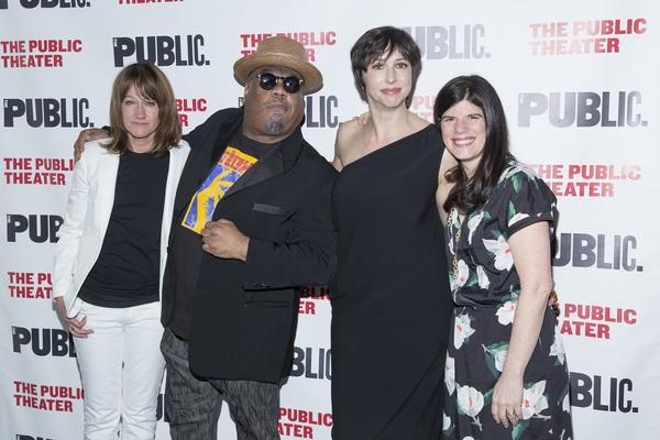 Heidi Rodewald, Stew, Joanna Settle, Mandy Hackett  Photo