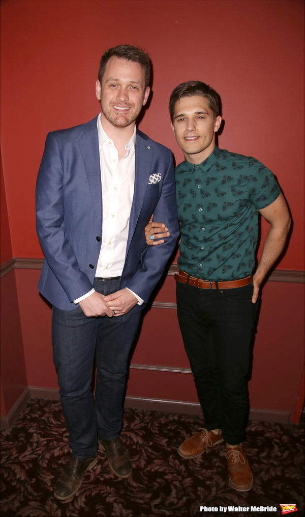 Michael Arden and Andy Mientus
