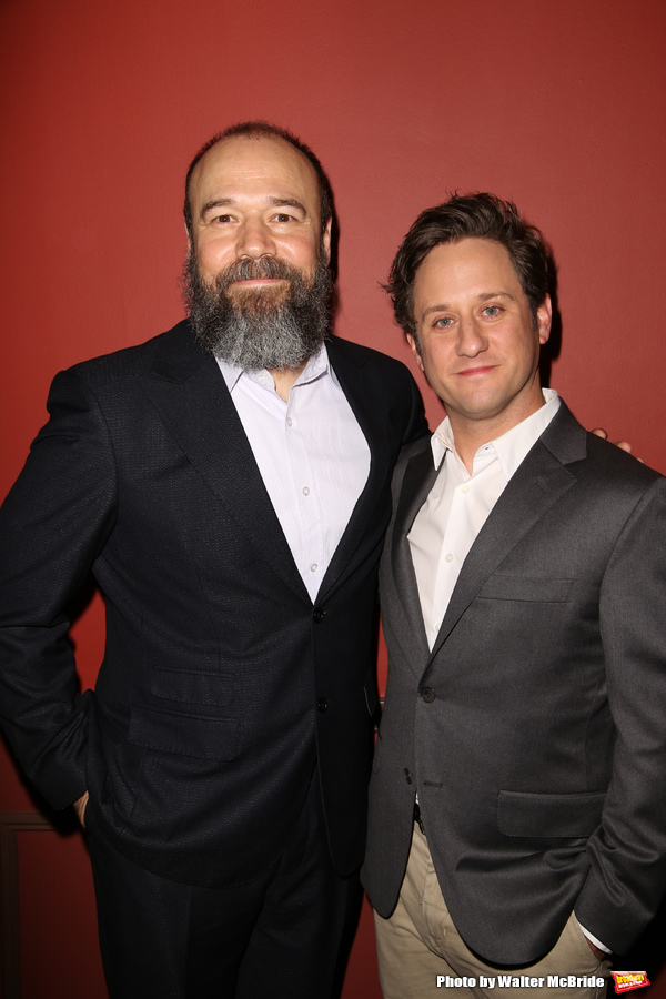 Danny Burstein and Christopher Fitzgerald