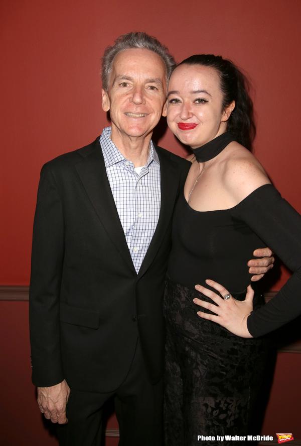 James Naughton and daughter