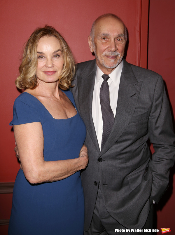 Jessica Lange and Frank Langella