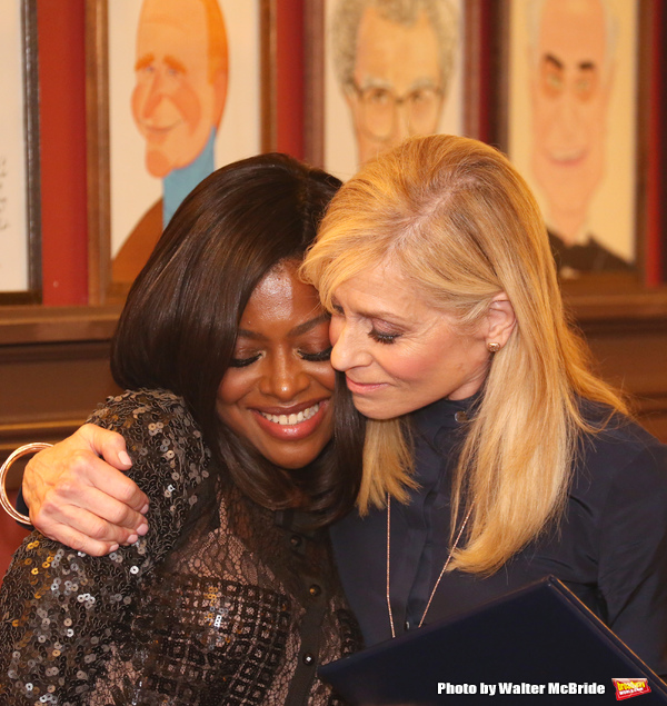 Pascale Armand and Judith Light