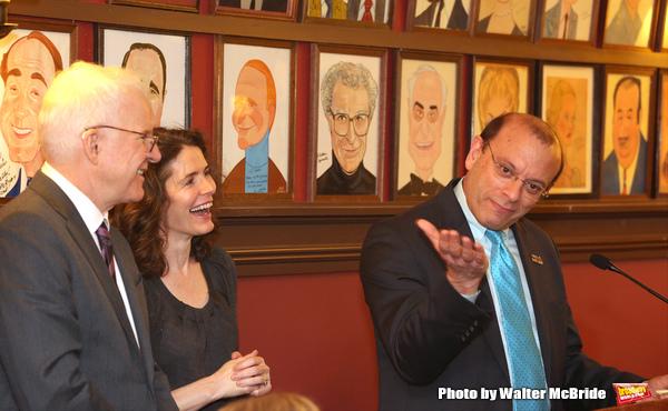 Steve Martin, Edie Brickell and Joey Parnes