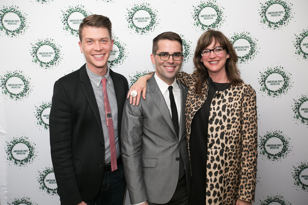 Nathan Brewer, Luke Frazier, Kelly d'Amboise Photo