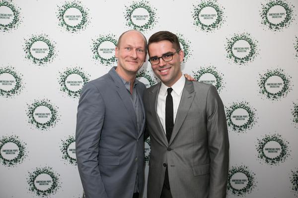 Luke Frazier and American Pops Executive Director Robert Pullen Photo