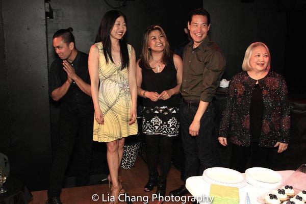Jose Llana, Lainie Sakakura, Hazel Anne Raymundo, Darren Lee, Virginia Wing