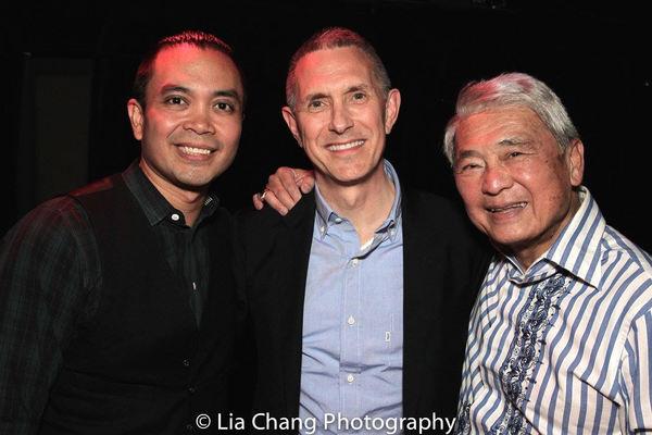 Jose Llana, Robert Longbottom, Alvin Ing
