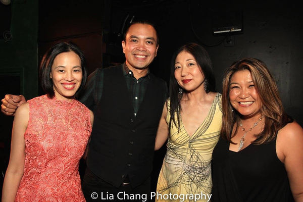 Lia Chang, Jose Llana, Lainie Sakakura, Hazel Anne Raymundo