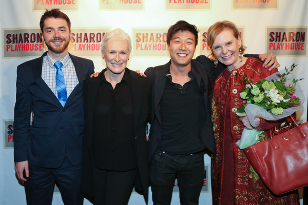 Peter Dugan, Glenn Close, Charles Yang, Terre Blair Hamlisch Photo