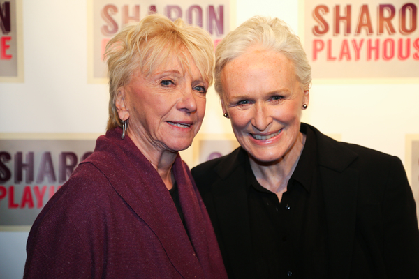 Elizabeth Franz and Glenn Close Photo