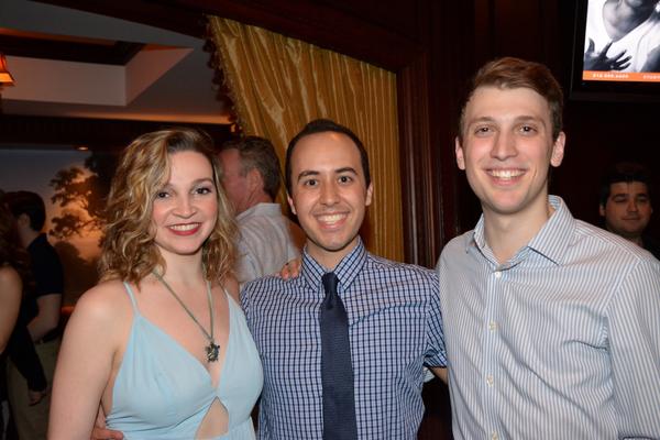 Maria Garvey, Michael Verre and Nick Mondaldo