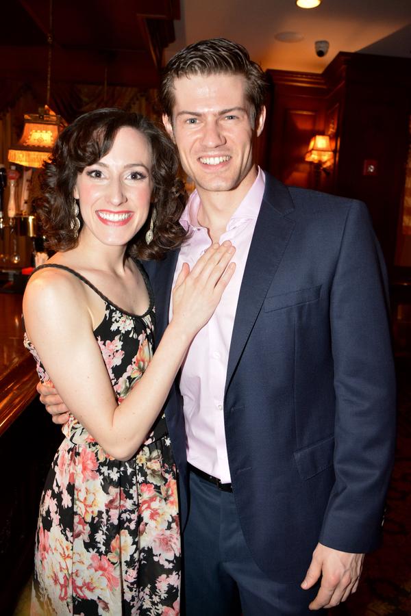 Sarah Stevens and Tim Rogan Photo