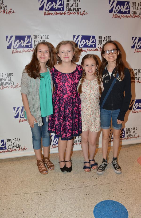 Sophia Gennusa, Milly Shapiro, Mimi Ryder and Oona Laurence Photo