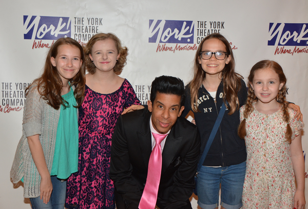 Jose Perez joins Sophia Gennusa, Milly Shapiro, Mimi Ryder and Oona Laurence Photo