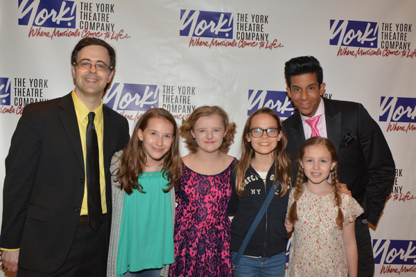 Van Dean and Jose Perez, Sophia Gennusa, Milly Shapiro, Mimi Ryder and Oona Laurence