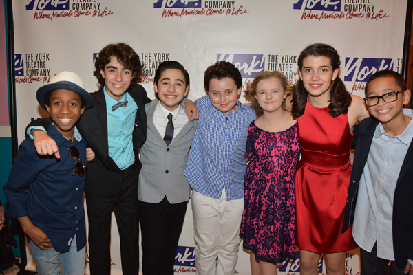 Jeremy T. VIllas, Aidan Gemme, Joshua Colley, Graydon Oeter Yosowitz, Milly Shapiro, Mavis Simpson-Ernst and Gregory Diaz