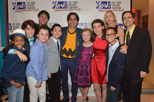 Jeremy T. Villas, Aiden Gemme. Graydon Peter Yosowitz, Joshua Colley, Milly Shapiro, Mavis Simpson-Ernst and Gregory Diaz and joined by Eric Svejcar (Music ), Michael Unger (), Jennifer Paulson-Lee (Choreographer) and Van Dean (Producer)