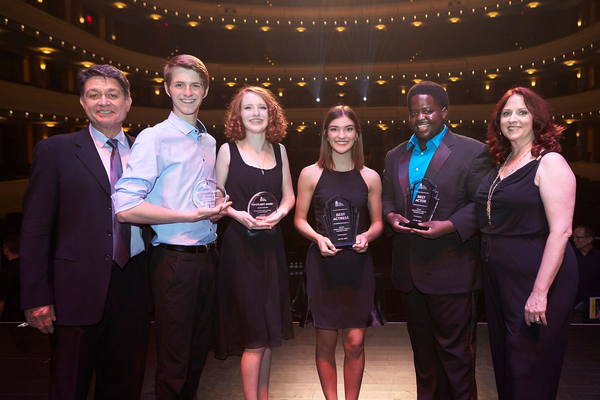 Nevada High School Musical Theatre Awards on May 29, 2016. Reynolds Hall at The Smith Photo