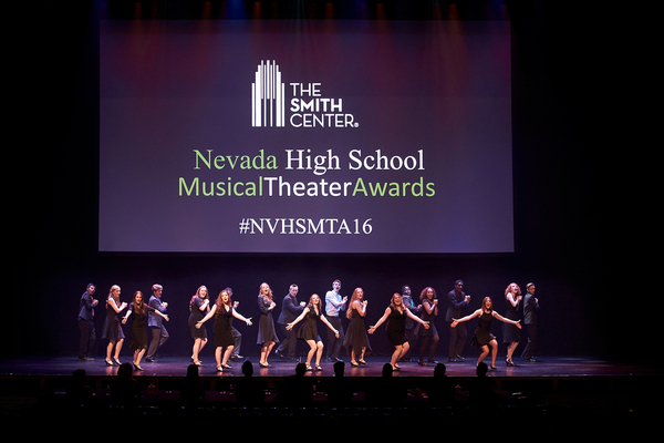 Nevada High School Musical Theatre Awards on May 29, 2016. Reynolds Hall at The Smith Center for the Performing Arts.  NVHS Myron Martin Candy Schneider