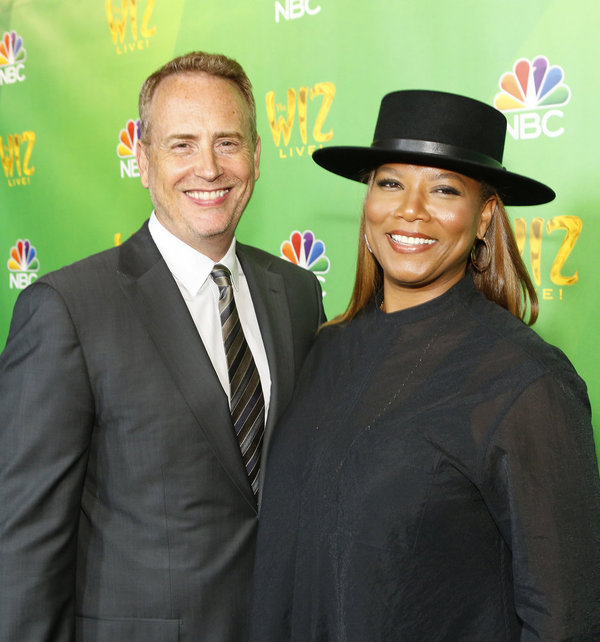 THE WIZ LIVE! -- Television Academy Event at The DGA, Los Angeles, June 1, 2016 -- Pictured: (l-r) Robert Greenblatt, Chairman, NBC Entertainment; Queen Latifah -- (Photo by: Trae Patton/NBC)