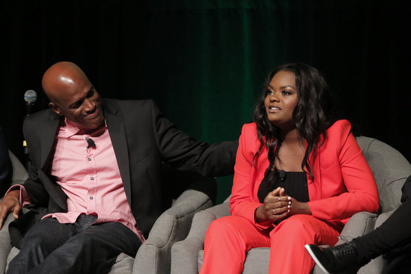 THE WIZ LIVE! -- Television Academy Event at The DGA, Los Angeles, June 1, 2016 -- Pictured: (l-r) Kenny Leon, Director; Shanice Williams -- (Photo by: Chris Haston/NBC)