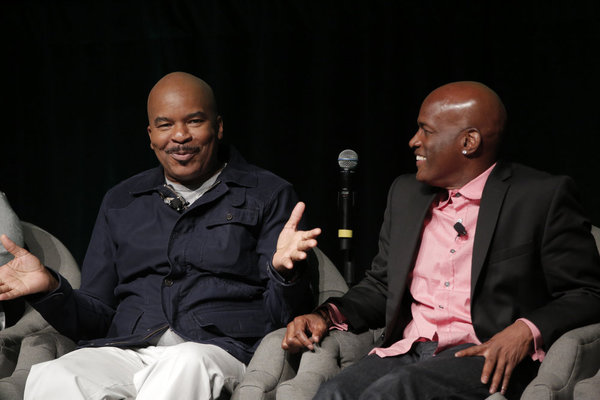 THE WIZ LIVE! -- Television Academy Event at The DGA, Los Angeles, June 1, 2016 -- Pictured: (l-r) David Alan Grier, Kenny Leon, Director -- (Photo by: Chris Haston/NBC)