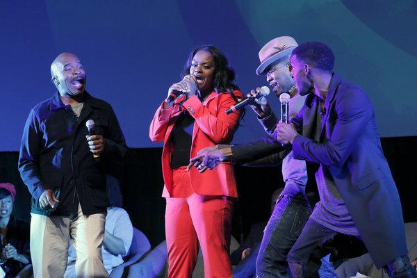 THE WIZ LIVE! -- Television Academy Event at The DGA, Los Angeles, June 1, 2016 -- Pictured: (l-r) David Alan Grier, Shanice Williams, NE-YO, Elijah Kelley -- (Photo by: Chris Haston/NBC)