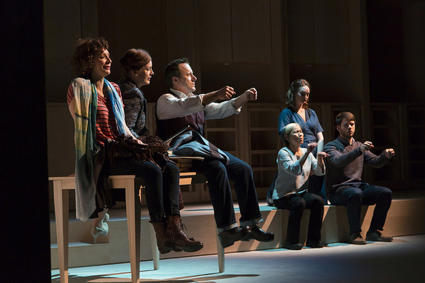 Photo Flash: First Look at World Premiere of Craig Lucas' I WAS MOST ALIVE WITH YOU at Huntington Theatre Company