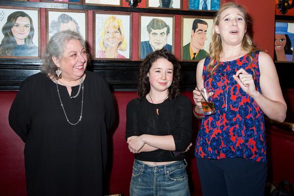 Jayne Houdyshell, Sarah Steele, Cassie Beck