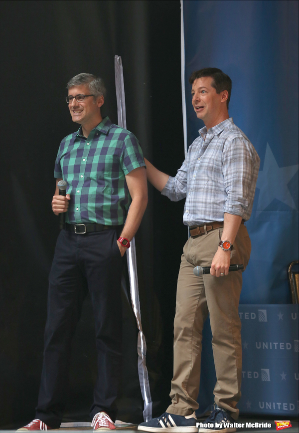 Mo Rocca and Sean Hayes