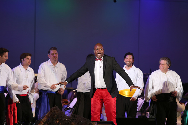 Tituss Burgess and Male Ensemble