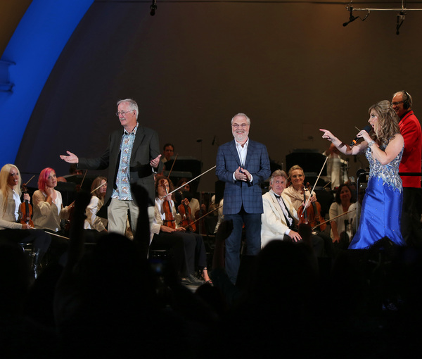Ron Clements, John Musker, Jodi Benson Photo