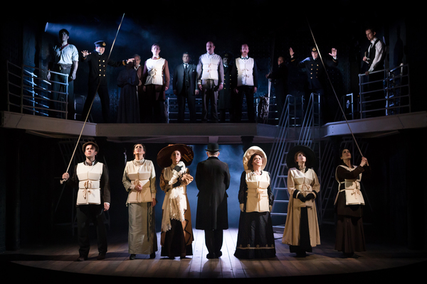 Photo Flash: Inside Look at the New Cast of TITANIC, Now In Performances!