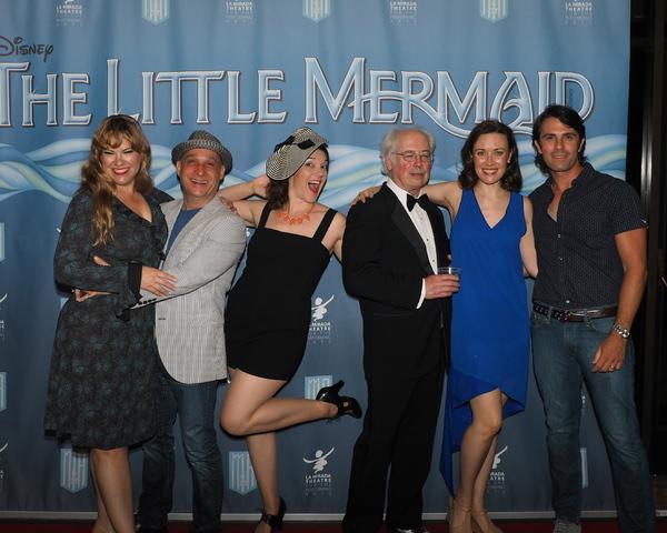Kim Arnett, Jamie Torcellini, Michael McEowen, Kristine Bennett, and Eric Kunze with Stage Manager Jess Manning
