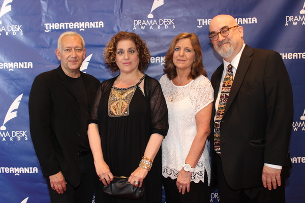 Michael John LaChiusa, Mary Testa, Kiersten Sanderson and Michael Starobin