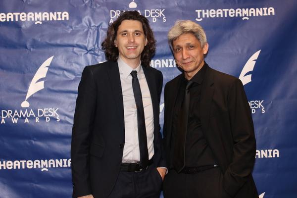 Lucas Hnath and Riccardo Hernandez