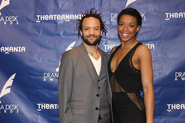 Savion Glover and Brittany Parks