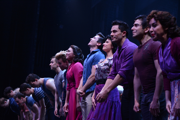 Photo Coverage: WEST SIDE STORY Takes Opening Night Bows at Paper Mill Playhouse!