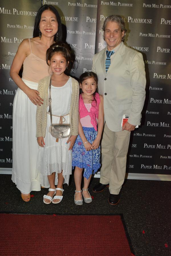 Lainie Sakakura, Alex Sanchez (Choreographer) and daughters