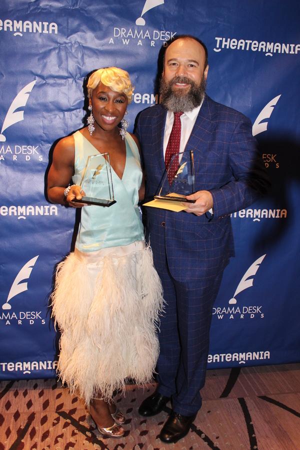 Cynthia Erivo and Danny Burstein