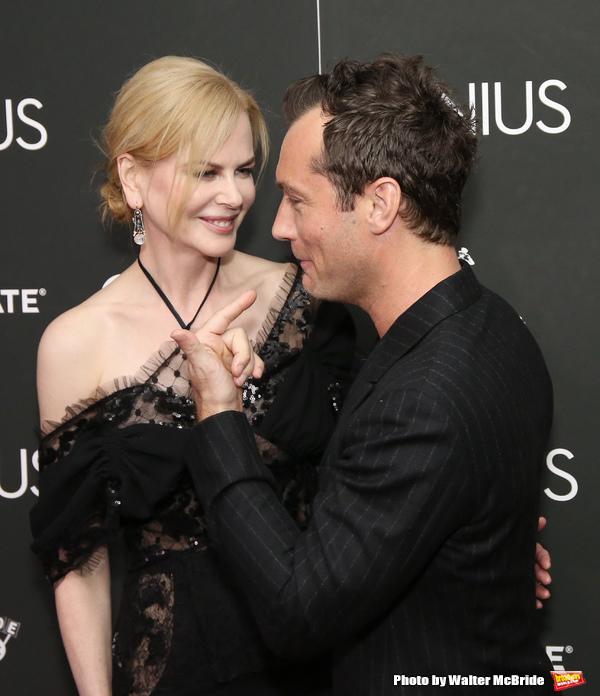 Nicole Kidman and Jude Law